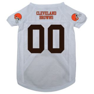 CLEVELAND BROWNS PET DOG FOOTBALL JERSEY v ALL SIZES