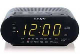 Sony ICF C218 AM/FM Clock Radio #8556606