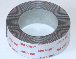 4941 10 X 1 PERMANENT OUTDOOR DOUBLE SIDED HEAVY DUTY MOUNTING TAPE