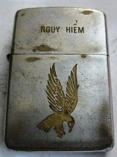 War  335th AVN Insignia (Armed Helicopter Falcon) ZIPPO LIGHTER ZULO