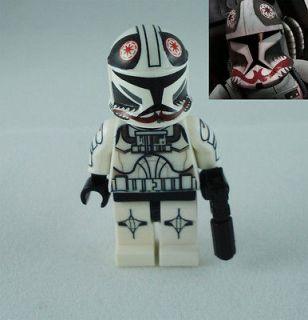 LEGO Star Wars Clone War Clone Trooper Pilot Matchstick