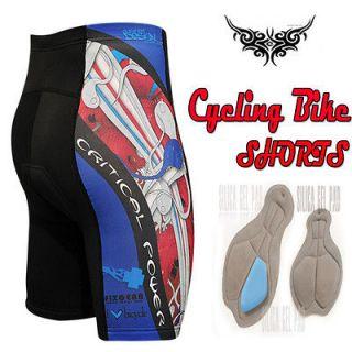 mens triathlon Cycle Bicycle Bike cyclist shorts tight 12mm gel padded