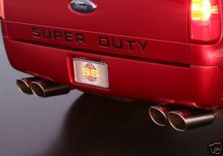 08 12 F250 F350 Super Duty Street Scene Urethane Rear Bumper Roll Pan
