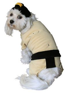 Wrestler Suit Dog Pet Halloween Costume Apparel Outfit Clothes New L