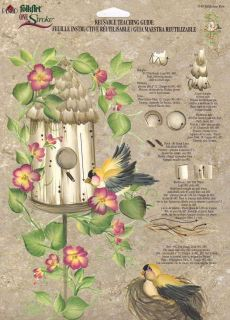 Birdhouse Row #1140 RTG Worksheet by Donna Dewberry