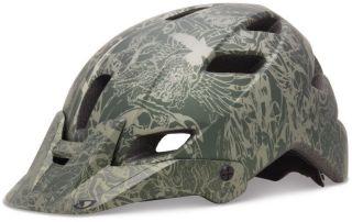 Giro Helmet Feature Matte Olive Evil Cycling Helmet Bike Dirt New
