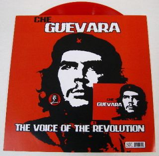 Che Guevara   The Voice Of The Revolution   Red Vinyl   New