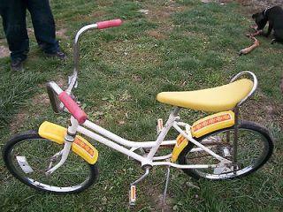 Vintage Huffy Country Sunshine Banana Seat Bicycle Muscle Bike