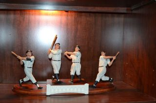 Babe Ruth, Lou Gehrig, Joe DiMaggio, Mickey Mantle Yankess Danbury