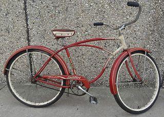 Mens Bicycle 26 Cruiser USA Vintage Fat Tire Bike 26 x 1 3/4