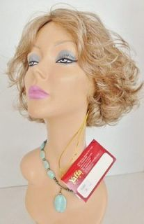 NEW YAFFA HUMAN HAIR BLEND EILEEN LIGHT BROWN AND GREY WIG #38