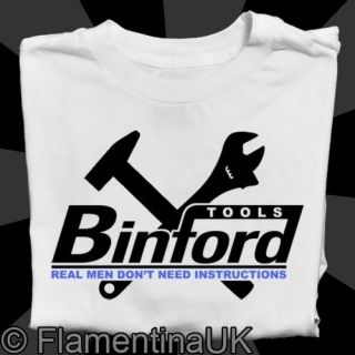 9043 BINFORD TOOLS W T SHIRT inspired by HOME IMPROVEMENT tv COMEDY