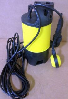 New 400W 1/2HP Submersible Water Pump w/ Float Clean Clear Dirty