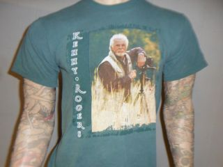vtg KENNY ROGERS CONCERT T SHIRT On Tour 80s 90s FREE USA SHIPPING
