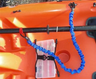 48 inch long Blue Kayak or Canoe Paddle Leash or Jet Ski Leash