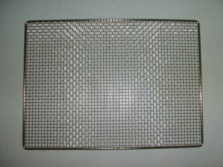stainless steel mesh sheet pan oven grilling rack/grate 19 1/4 x 14