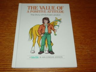 Valuetales Story of Michael Landon Value of a Positive Attitude Value