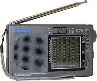 Kaito KA1107 Dual Conversion AM FM Shortwave World Band Receiver Radio