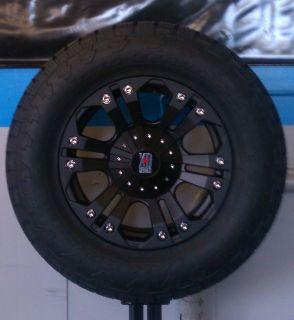 18x9 XD Monster Black / 305/60R18 Nitto Terra Grappler