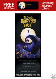 nightmare before christmas invitations in Home & Garden