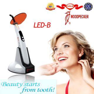 Woodpecker LED B Dental Wireless Cordless LED Curing Light Lamp