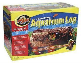 Floating Aquarium Log Fish Frogs Turtle Mini FA 5