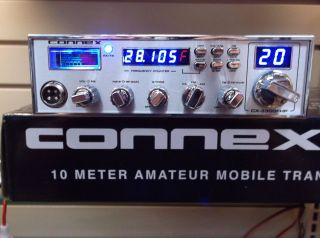 BRAND NEW CONNEX 3300 FHP 10 METER RADIO BUILT IN FREQUENCY COUNTER