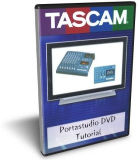 tascam portastudio dvd training tutorial 414 424 covers 414 424