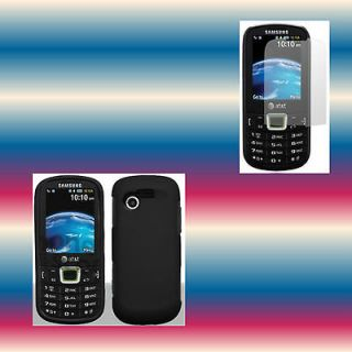 Screen Protector+Blac​k Straight Talk Samsung SGH S425G/Ever​green