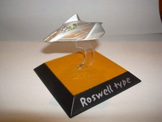 Roswell UFO 1947 Crashed Spaceship Metal Diecast Model