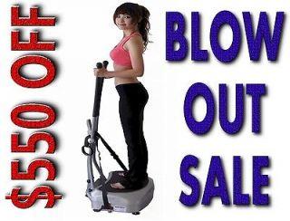 WBV BODY VIBRATION MACHINE PLATE POWER SLIM VIBES STEP USA WEIGHT LOSS