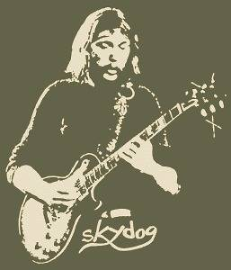 DUANE ALLMAN BROTHERS SKYDOG T SHIRT CLASSIC VINTAGE ROCK XLG (XLG)