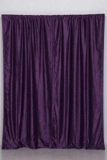 Dark Purple Curtains In Curtains Drapes Valances