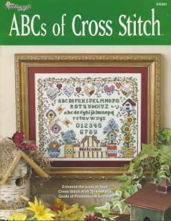 Counted Cross Stitch Book   ABCs Of Cross Stitch   1 Cute Country