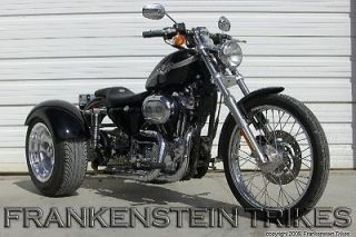 harley sportster full conversion trike kit frankenstein trike kit