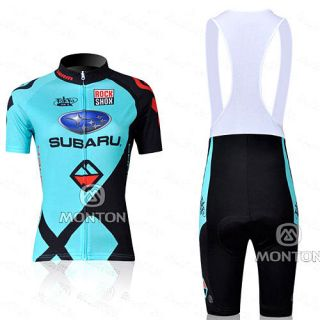 2012 Cycling Bicycle Comfortable Jersey + bib Shorts size S   XL For