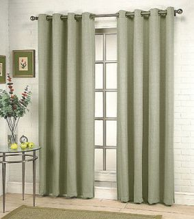 sage green curtains in Curtains, Drapes & Valances