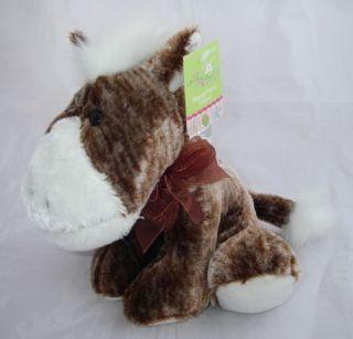 MWT CVS Floppy Farm Friend Dan Dee Plush Brindle HORSE