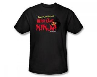 30 Rock Tracy Jordan TGS Who Dat Ninja NBC TV Show T Shirt Tee