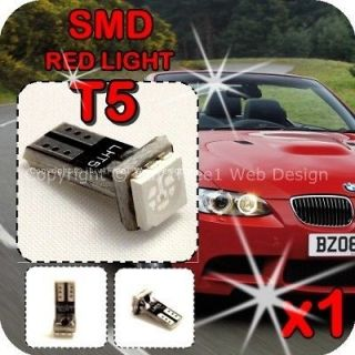 Wedge LED Light Bulb Xenon Speedo Dashboard Instrument 17 18 37 70 x1