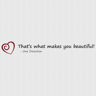 1D LYRICS - What makes you beautiful - Wattpad