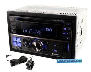 ALPINE CDE W235BT IN DASH DOUBLE DIN CD IPOD MP3 RECEIVER W/ BLUETOOTH