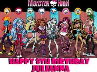 monster high decorations in Candles & Cake Decorations