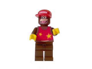 CUSTOM* LEGO Super Mario Bros Diddy Kong Nintendo Wii