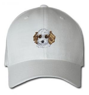 COCKAPOO PUPPY DOG & CAT SPORTS SPORT EMBROIDERED EMBROIDERY HAT CAP