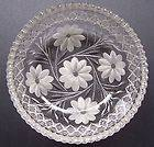ABCG Brilliant Cut Glass 8 Petal Daisy and Vine Bowl – BEAUTIFUL