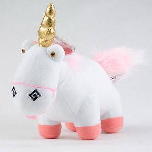 Despicable Me Unicorn Figure Plush Doll Soft Stuffed Plush Toy