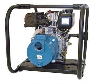 7Hp Diesel Engine DREDGE PUMP   10,380 GPH   2 Inlet/Outlet   Up to