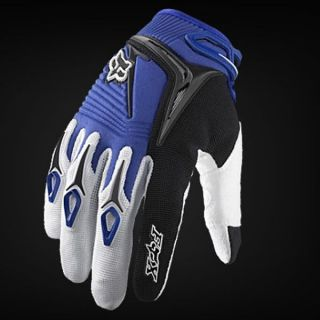 Cycling Bicycle bike 360 BMX Motorbike Motorcycle Racing Gloves Blue M