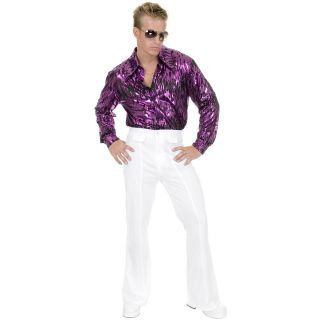 White Disco Pants Adult disco pants,disco,70​s,historical,​mens